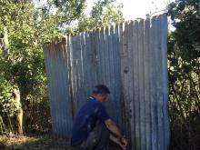 The new fence